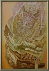 Воздвижение бога, 103х67, 2011г.