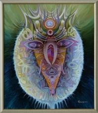 Всевидящий бог, 98х73, 2011г.
