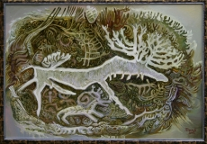 Мотив из артефактов, 68х110, 2011г.