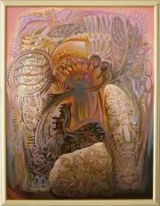 Праздник богов, 109х83, 2011г.