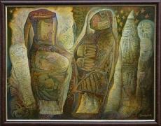 По мотивам древних легенд, 86х110, 2011г.