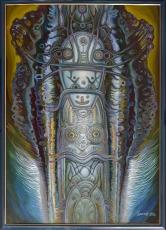 Из серии _Боги далеких предков_, 112х80, 2013г